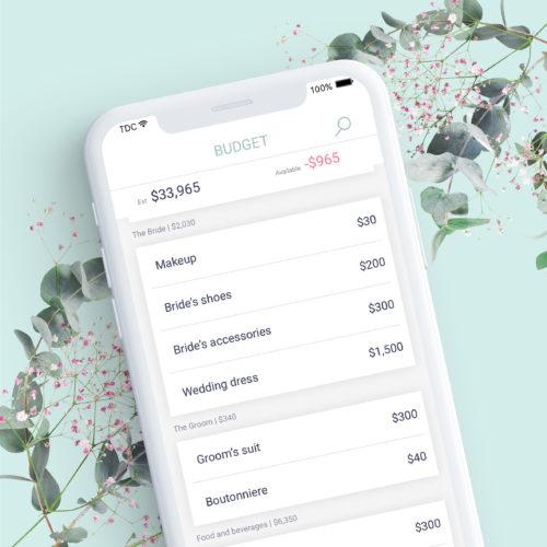 Wedbox wedding budget